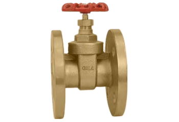 Brass Gate Valve Flanged End